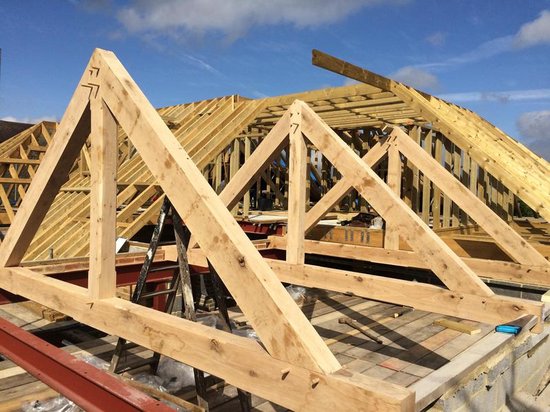 Image 2 - Traditional cut roof with oak beams