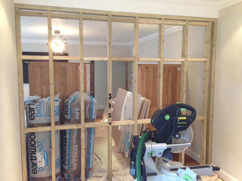 Image 31 - timber frame under construction
