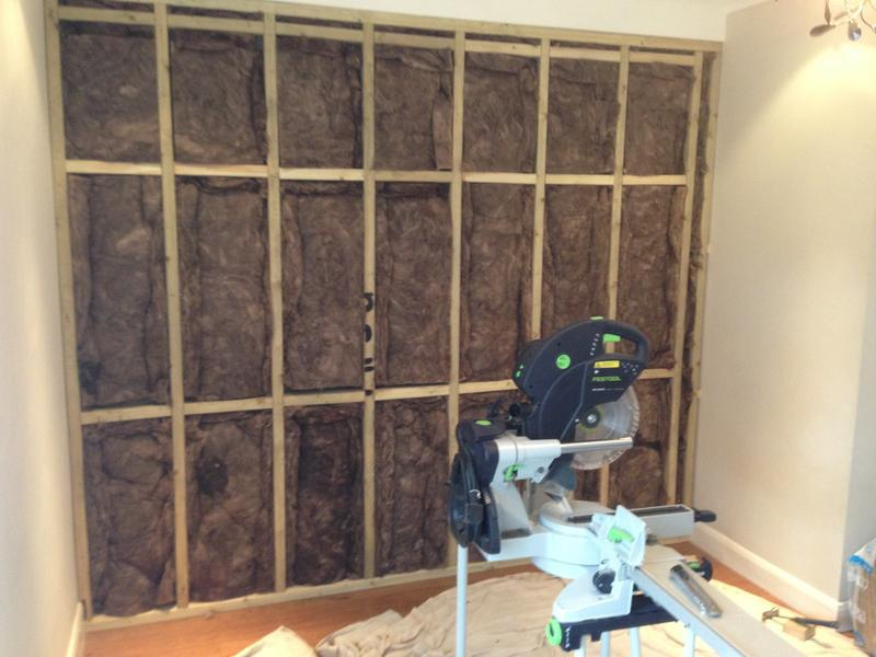 Image 32 - plasterboard and insulation fitted