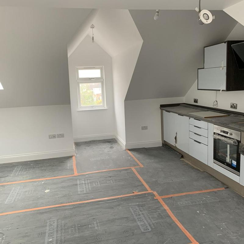 Image 16 - Kitchen in new build flats