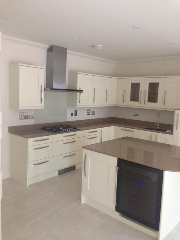 Image 5 - new kitchen fitted to new extension in maidstone