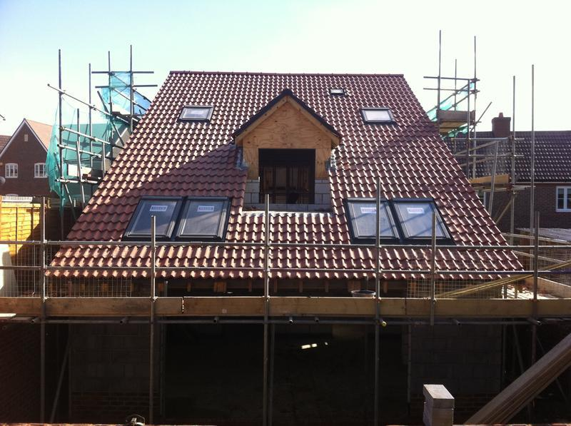 Image 8 - This is the finished product with six velux windows and sun tube