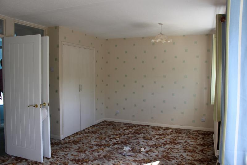 Image 15 - Bedroom before converting into two bedrooms