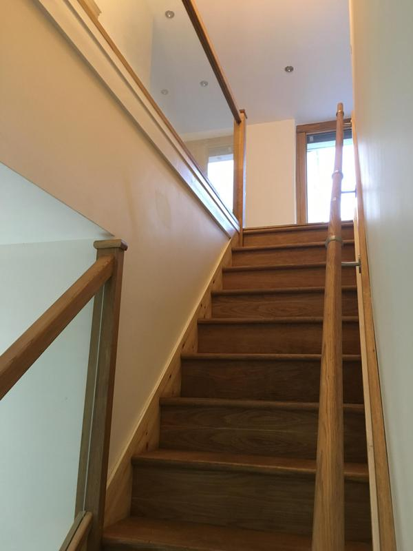 Image 11 - oak staircase with glass panels