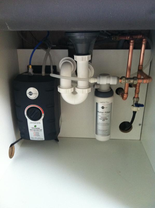 Image 14 - Hot Tap Install