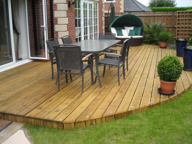 Image 1 - D&G Fitted this decking 2 years ago, it only took 3 days.