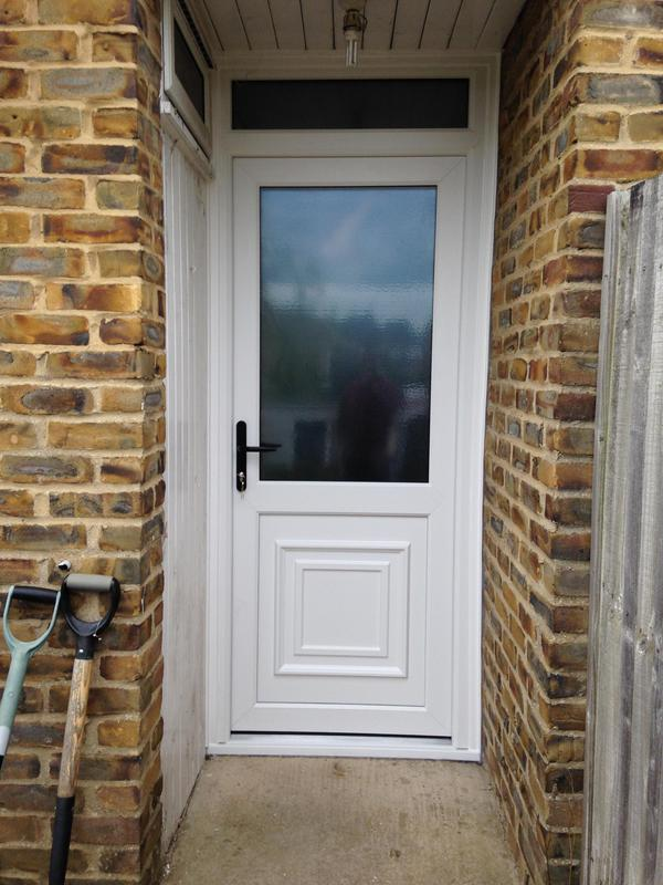 Image 13 - new white upvc double glazed door supplied and fitted by us