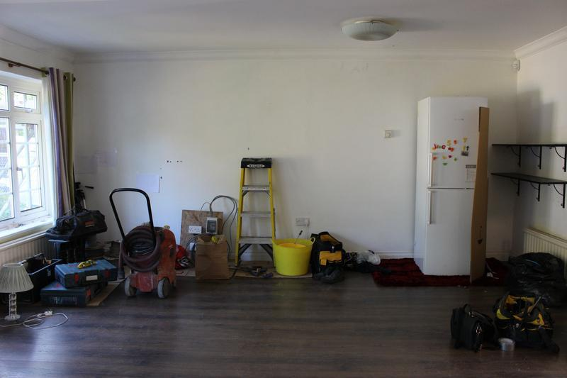Image 20 - Living room before works
