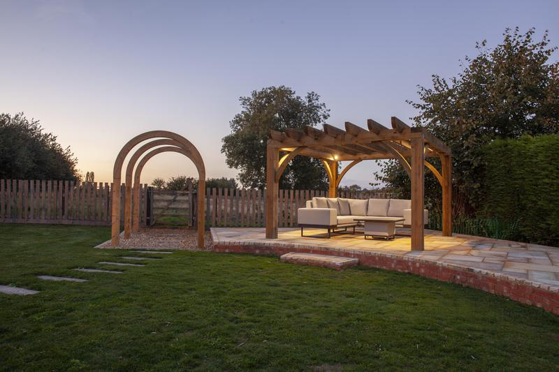 Image 1 - Decorative Timber Archway and Pergola