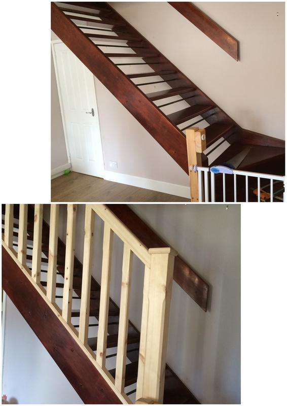 Image 41 - Bannister Before and After