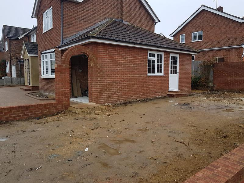 Image 15 - new garage to side of house in bearsted