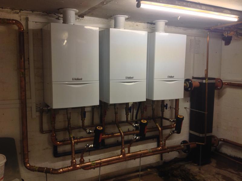 Image 44 - Commercial Boiler Installation.