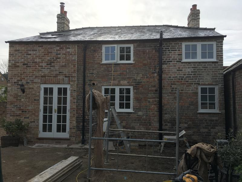Image 69 - Grade II Listed property extension, repointing and window alterations