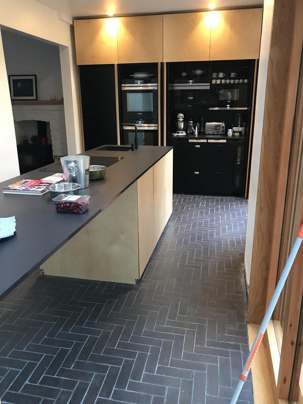 Image 35 - Kitchen Floor Tiles put down