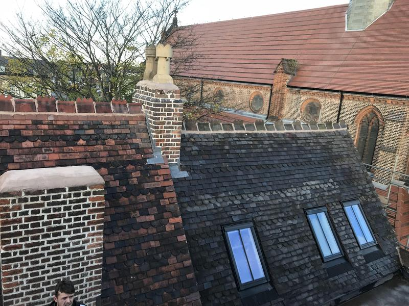 Image 1 - Re roofing & Lime pointing on a grade 2 listed vicarage