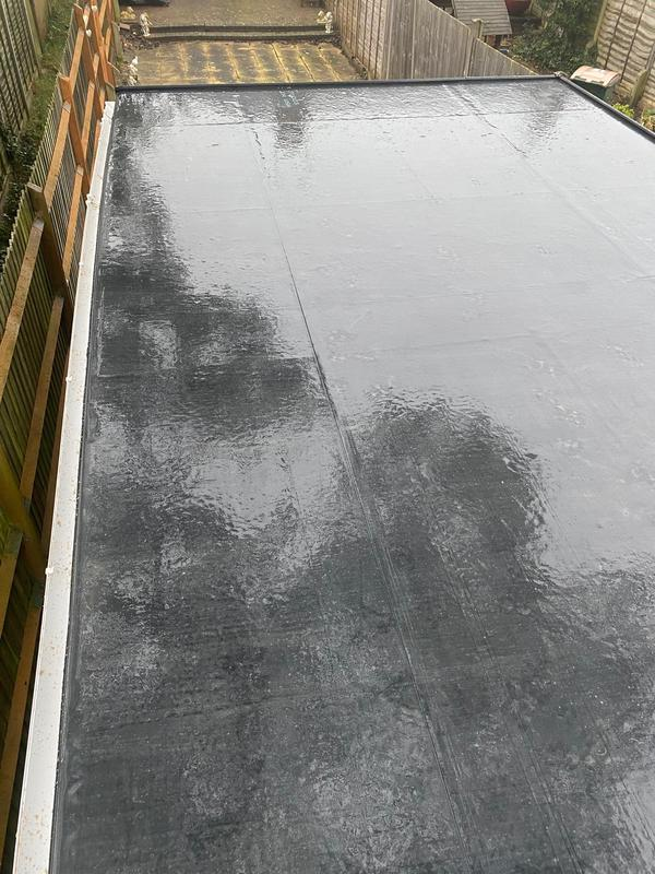 Image 22 - Garage Roof in Rubber comes with 20 year guarantee! Completed January, Chapelfields.