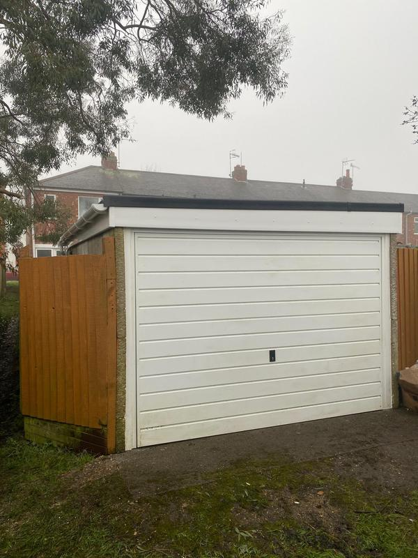 Image 21 - Garage Roof in Rubber comes with 20 year guarantee! Completed January, Chapelfields.