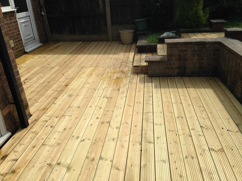 Image 24 - new decking area