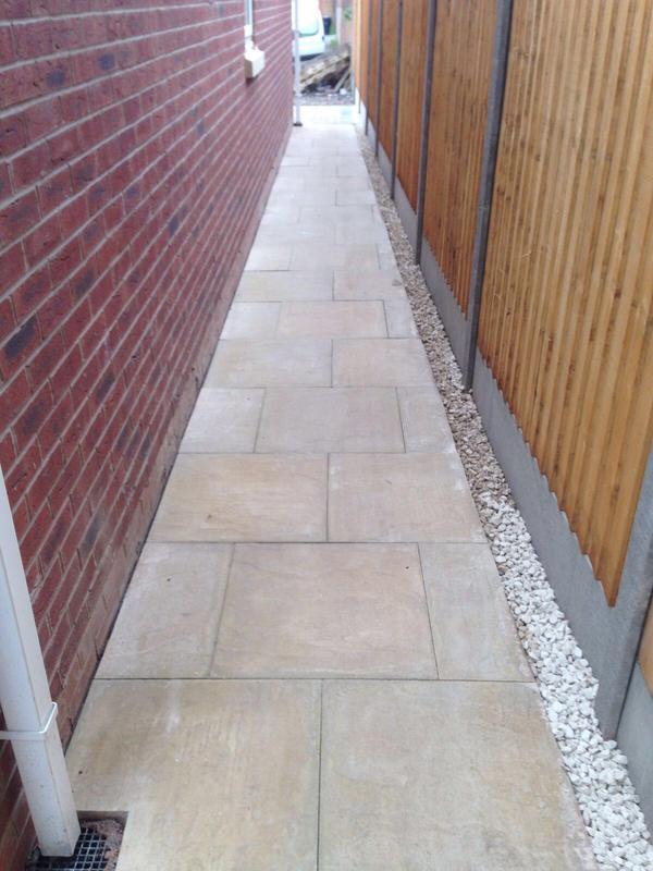 Image 22 - Block Pave pathway installation