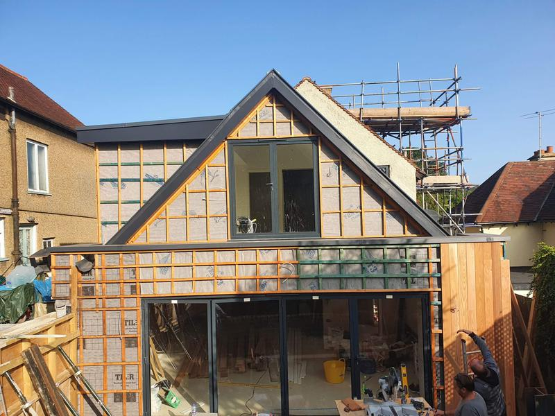 Image 16 - rear extension to property in loughton essex