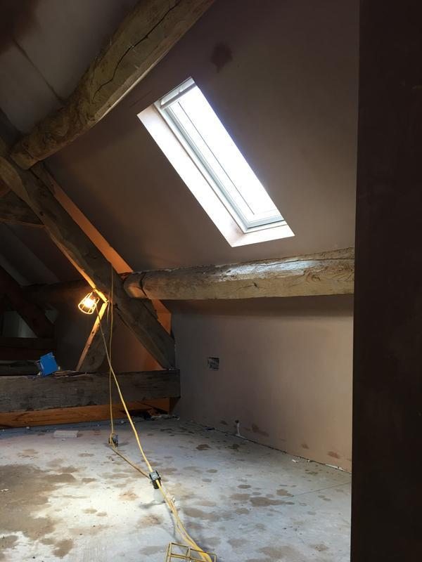 Image 12 - Attic room refurb