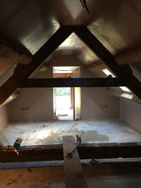 Image 7 - Attic room refurb