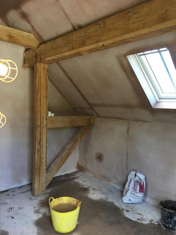 Image 59 - Bedroom re-plastered