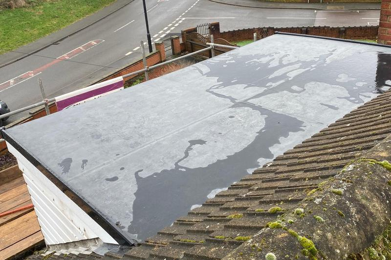 Image 9 - Dormer Roof Replacement EPDM. Completed February, Wyken.