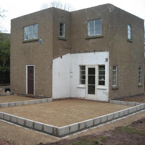 Image 19 - renovation and extension work begins March 2012