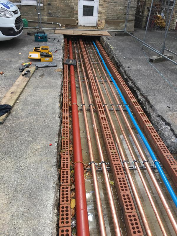 Image 58 - Complete re- plumb & commercial boiler installation at 65 bed Carehome