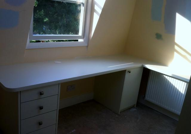 Image 29 - Fitted Office desk