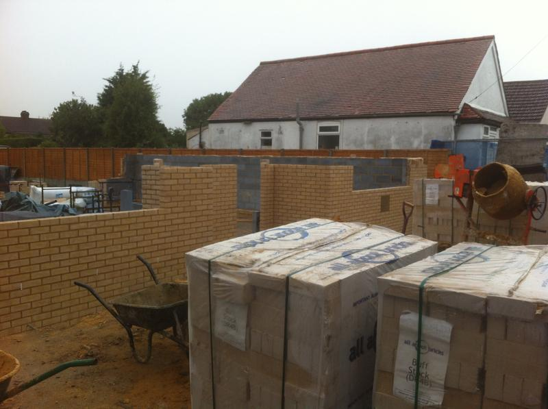 Image 16 - currently building two semi-detached houses (11/10/13)