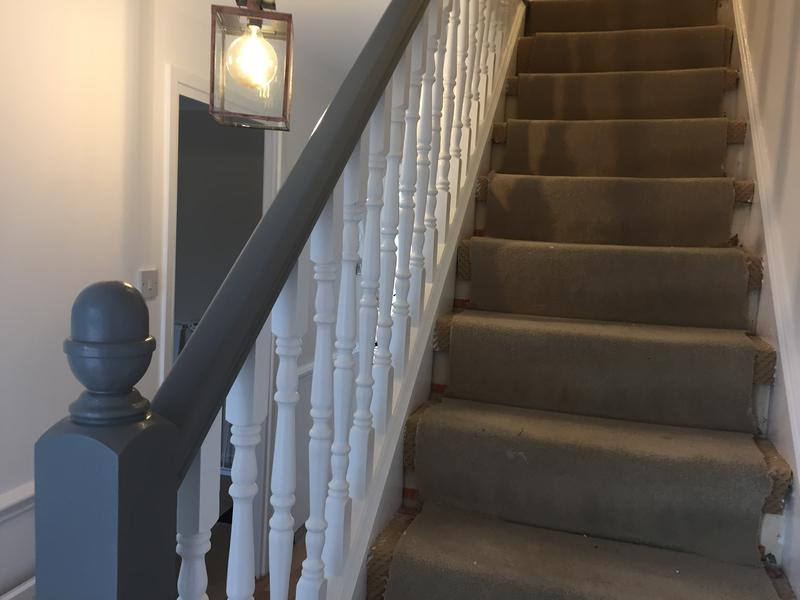 Image 3 - Colour tone stair case popular at the moment satisfying to see the end product