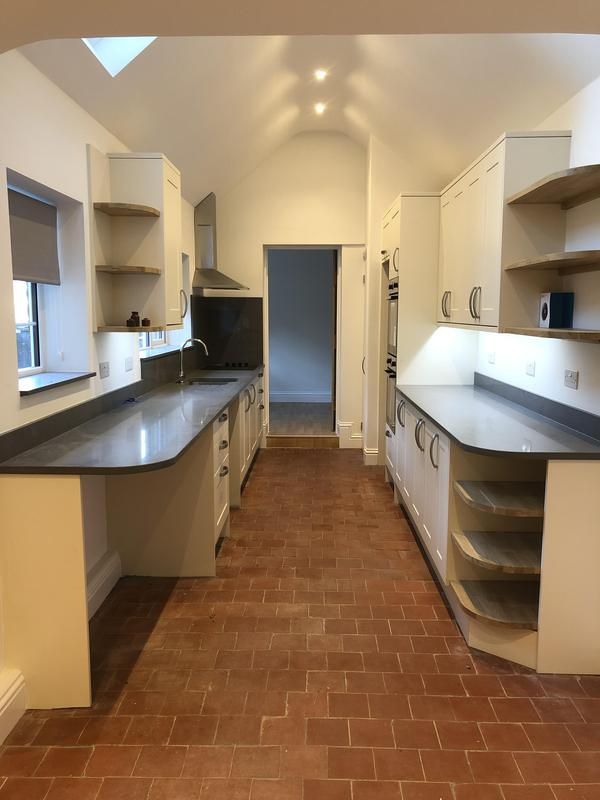 Image 6 - A 'galley' kitchen transformation in this 1900's property in Wheathamstead