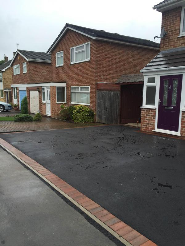 Image 120 - new tarmac drive lead in Spondon Derby