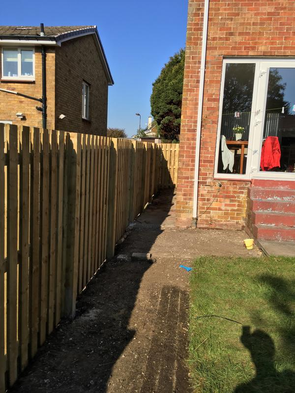 Image 36 - 6Ft Double Slatted Fencing