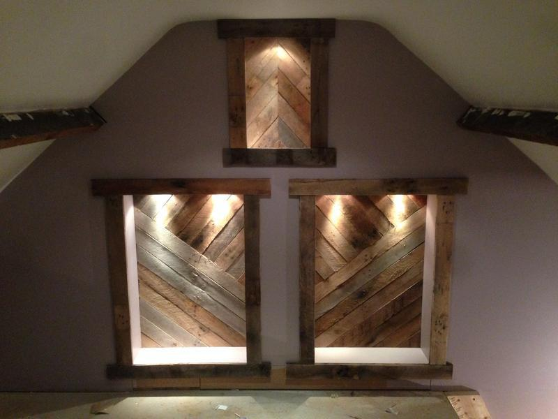 Image 19 - feature wall in loft
