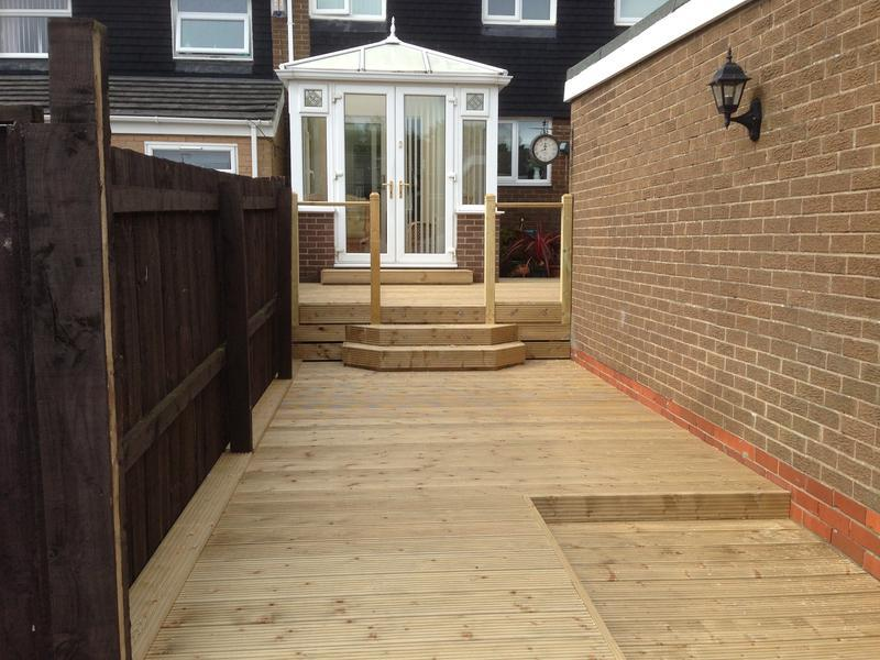 Image 16 - add some decking to your yard this one we complete 2016