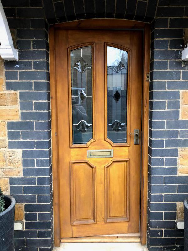 Image 36 - Before - Old Front Door