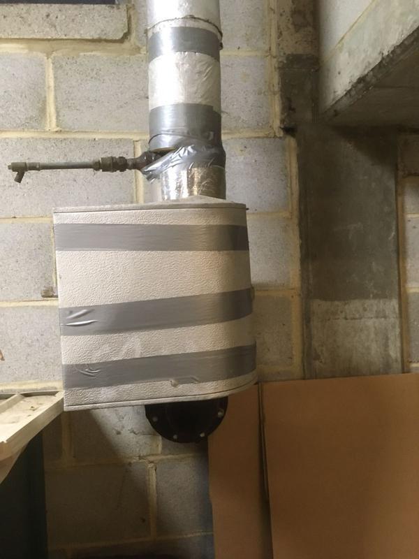 Image 71 - Underground pipe lagging.