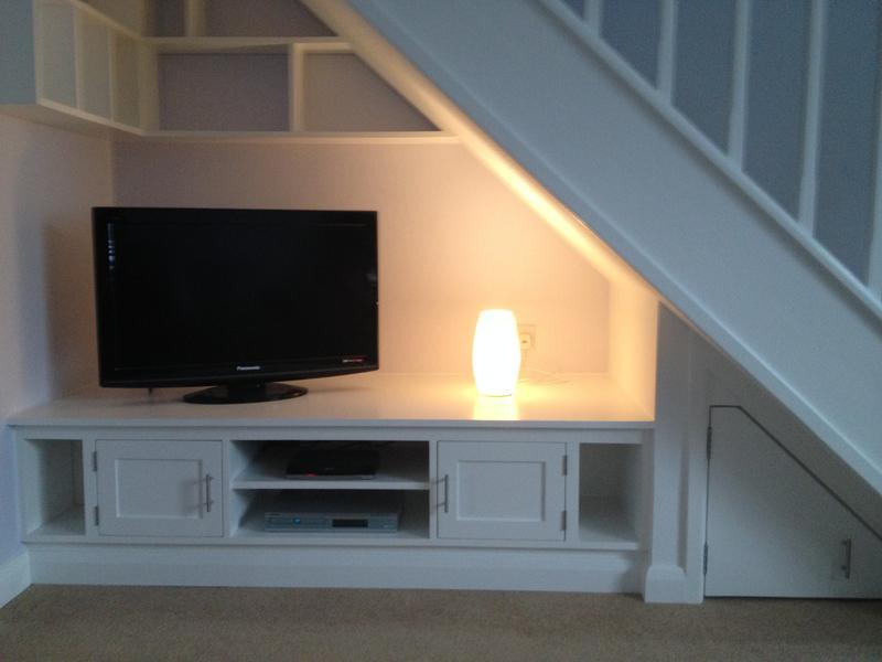 Image 2 - bespoke understairs unit complete with shelves & full decoration