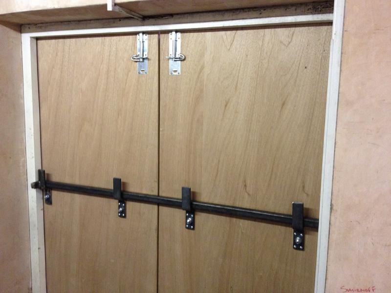 Image 18 - Internal locks at pub
