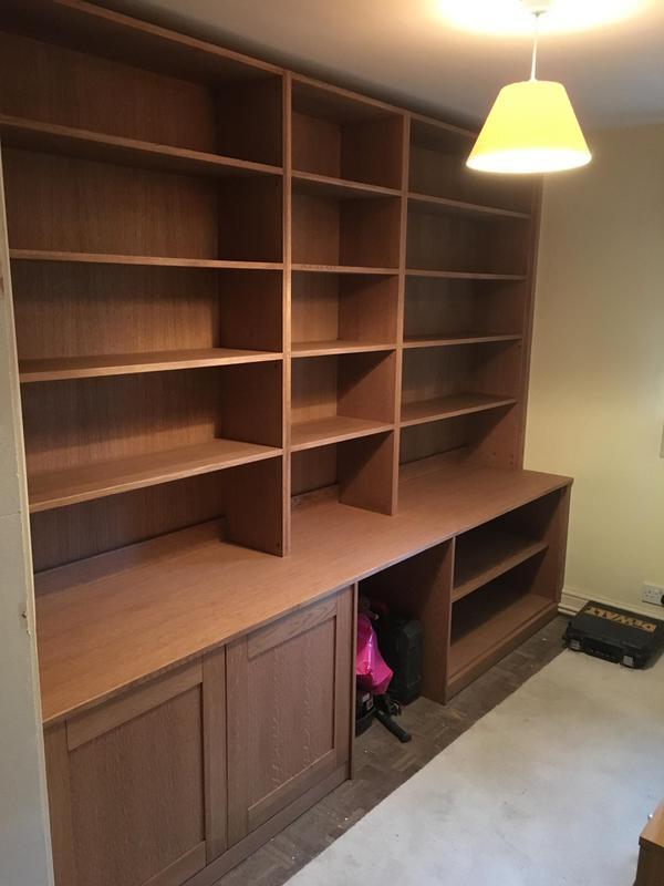 Image 16 - custom built bookcase