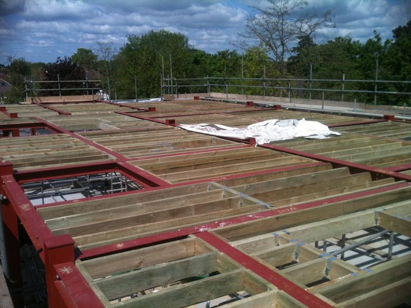 Image 23 - Another huge flat roof completed
