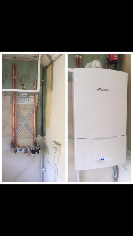 Image 5 - New boiler installation