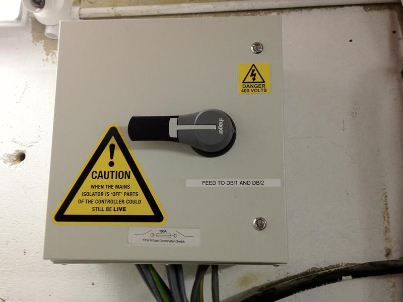Image 15 - 100amp 3phase Isolator