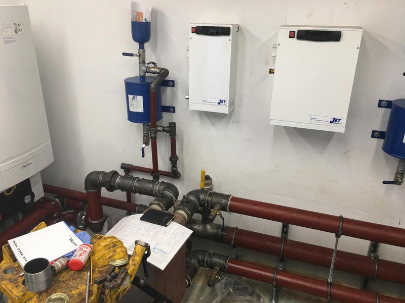 Image 44 - Complete re- plumb & commercial boiler installation at 65 bed Carehome