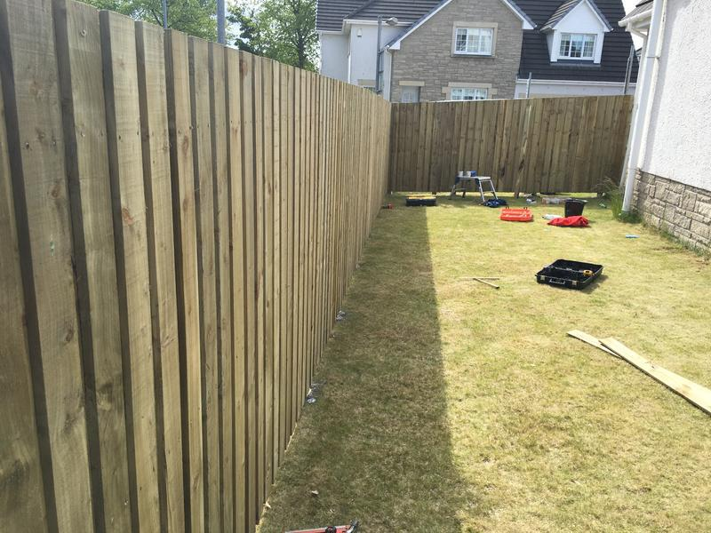 Image 40 - 6ft Double Slatted Fencing