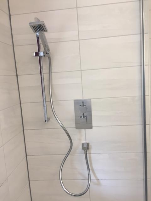 Image 44 - Replacement shower to accommodate existing tiles