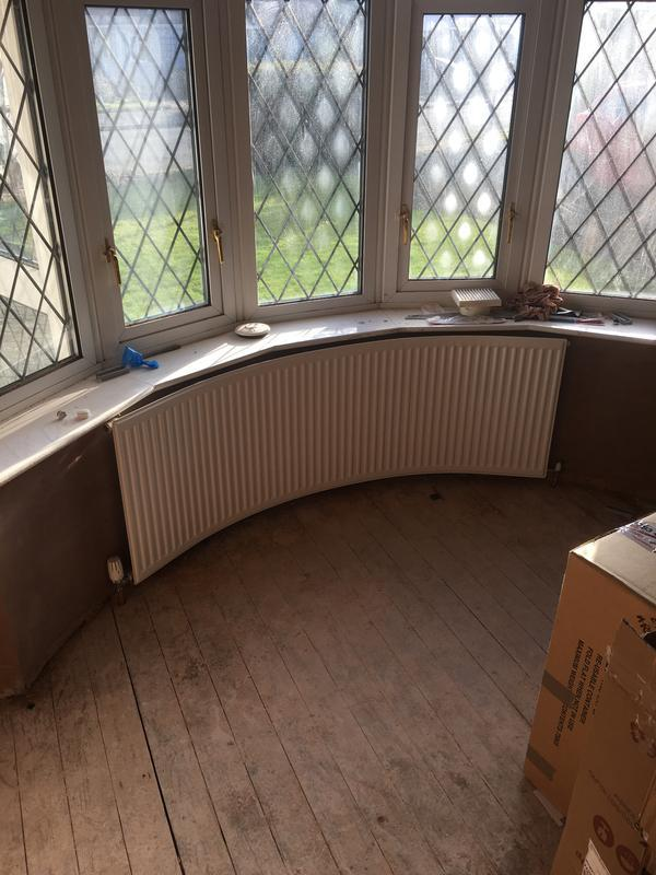 Image 14 - new curved ratiator for bay window